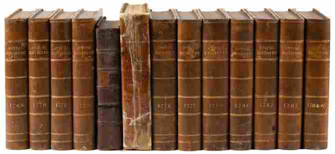 25 vols. of the Annual Register, 1769-1798