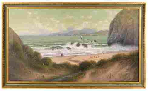 Signed by artist James Everett Stuart