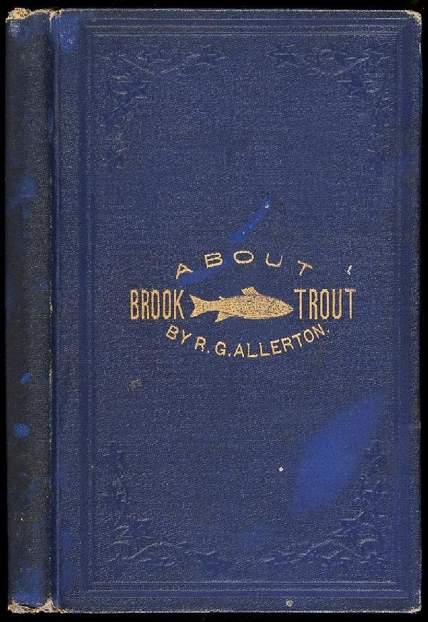 6: Allerton's Brook Trout Fishing inscribed 1869