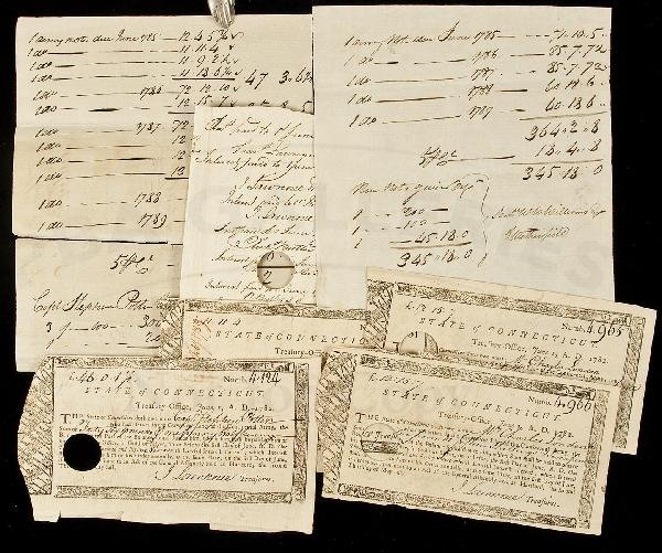 8: Connecticut soldiers paid for Revolutionary War