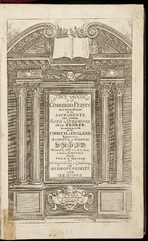 81: Book of Common Prayer London 1669-1676