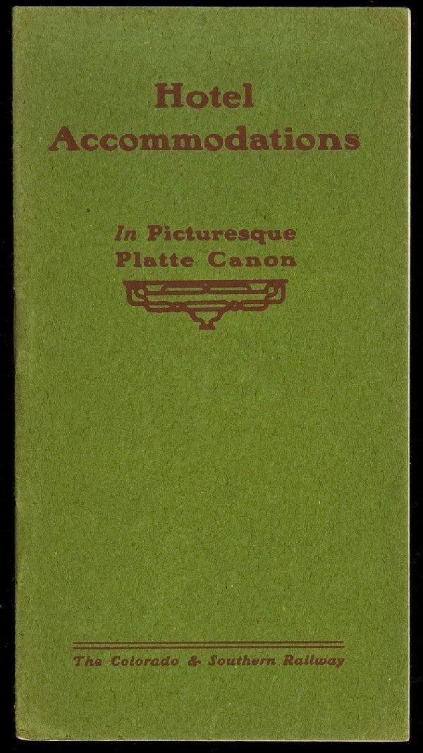 88: Colorado Railway hotel brochure