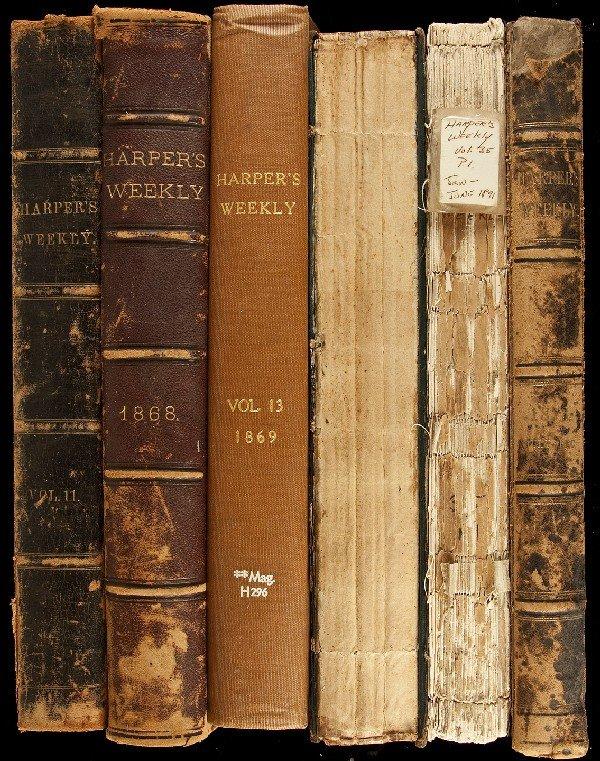 142: Harper's Weekly - 8 vols. 1867-1891