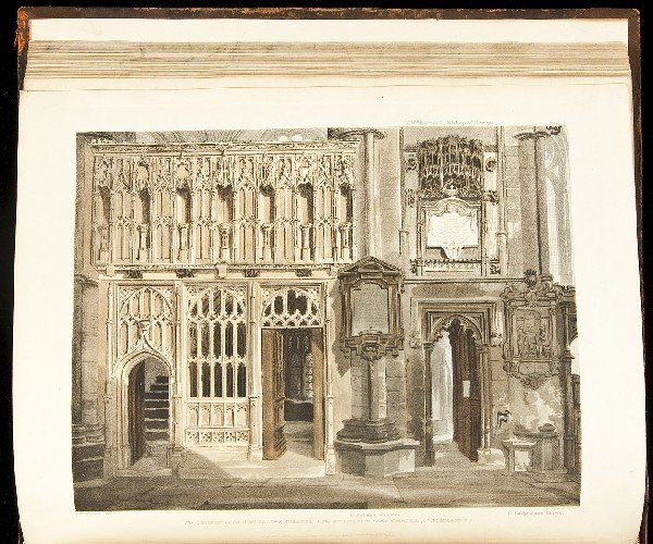 1: History of Westminster Abbey 1812
