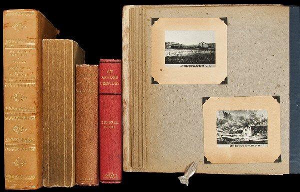 5: 8 Americana titles + scrapbook
