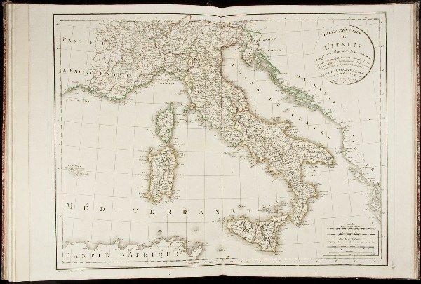 22: Atlas d'Étude 36 Maps 1810