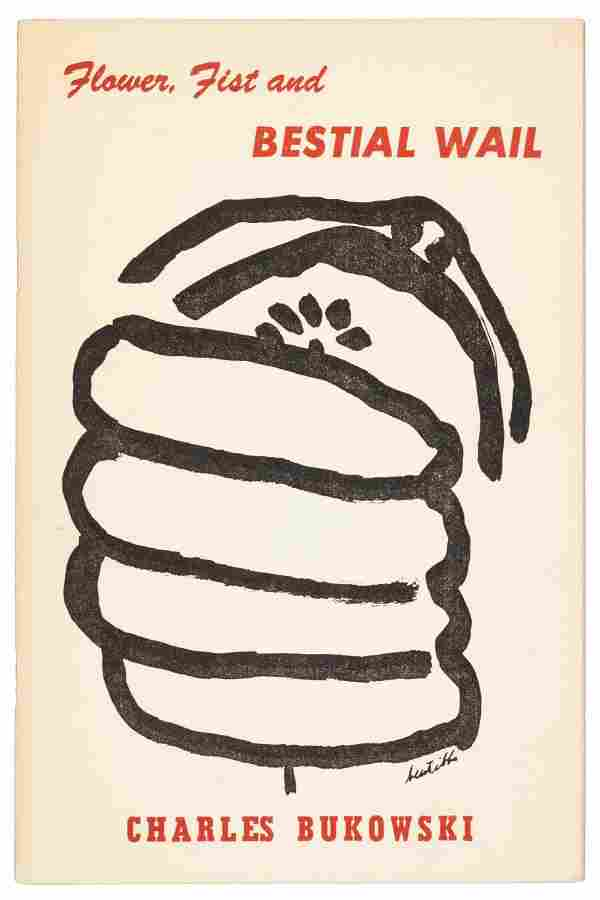 Bukowski's 1st book inscribed to Loujon