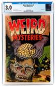 WEIRD MYSTERIES #5 * CGC 3.0 * Crazy BRAIN REMOVAL