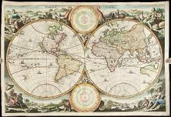 196 Stoopendaal world map California and island 1680