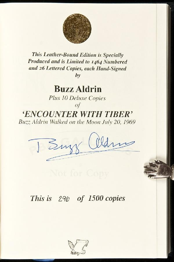 5: Encounter with Tiber signed by Buzz Aldrin 2005