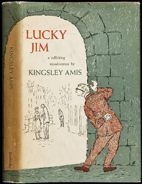 6: Lucky Jim by Kingsley Amis 1st in dj