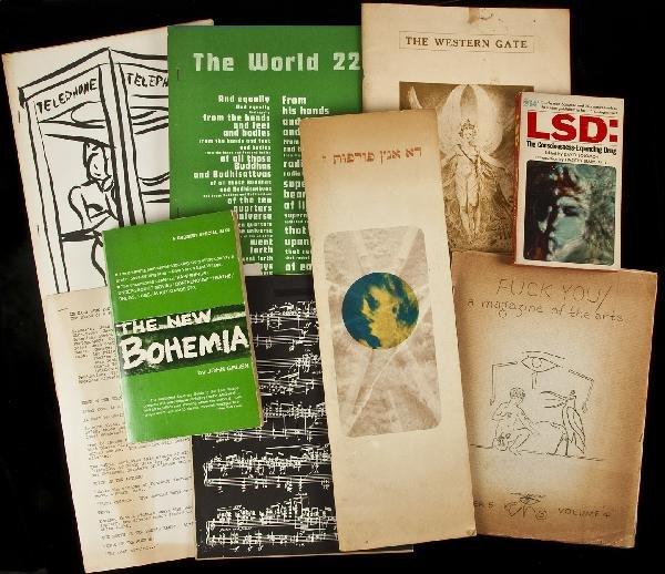 9: Beat literary magazines