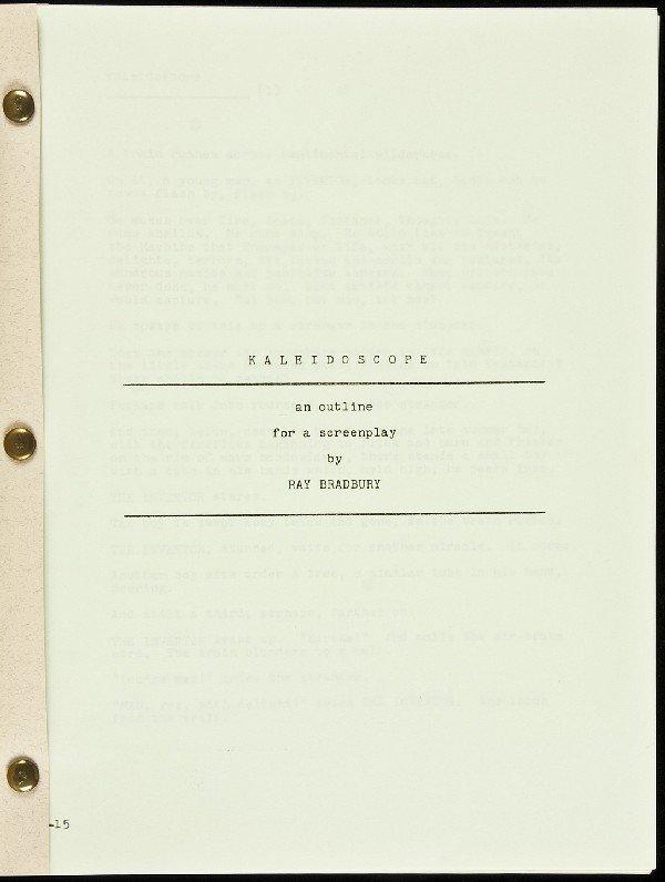 17: Bradbury's Kaleidoscope 1/40 in wrappers