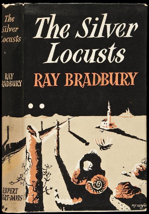 20: Bradbury's Silver Locusts 1st UK ed in dj