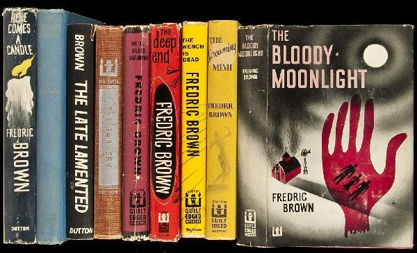 24: Sixteen mystery novels by Fredric Brown