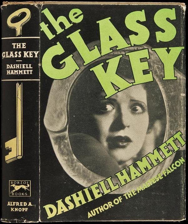 105: The Glass Key first edition in rare dust jacket