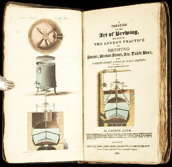 1: Accum's Treatise on the Art of Brewing 1820