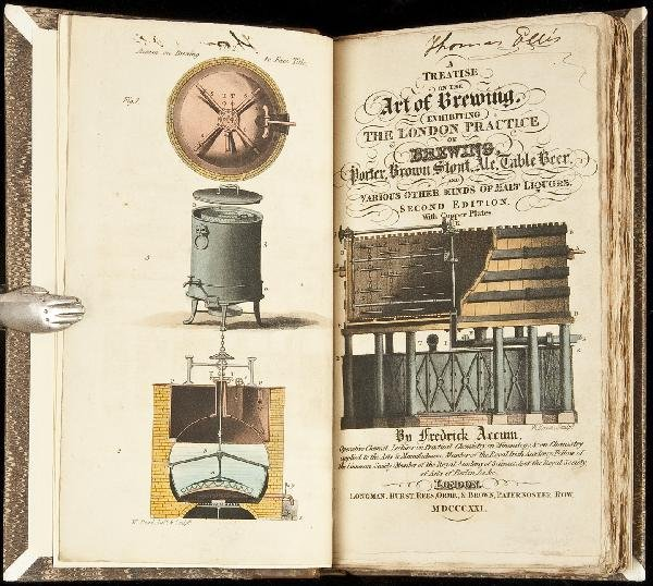 3: Accum's Treatise on the Art of Brewing 1821