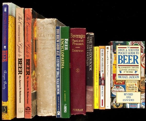 14: 96 volumes on drinks & drinking, mostly beer