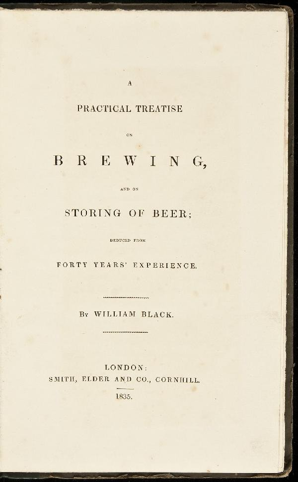16: William Black A Practical Treatise on Brewing