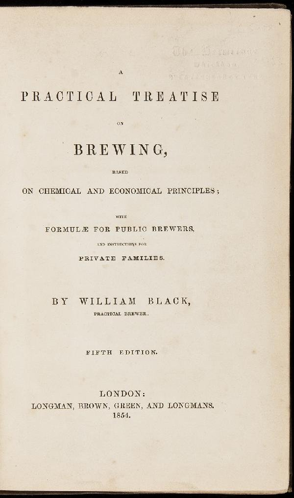 18: A Practical Treatise on Brewing - Fifth Edition