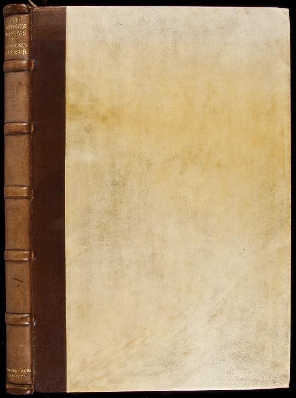 13: Spenser's Minor Poems Ashendene Press