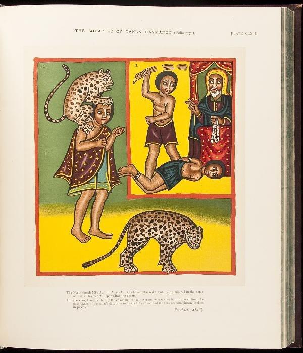 21: Facsimile of rare Ethiopic texts Budge trans.