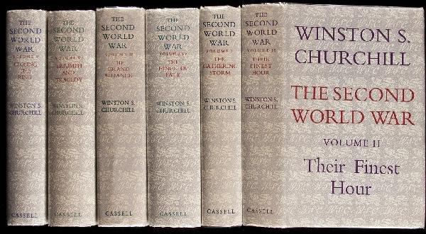 24: Churchill's Second World War 6 vols. 1st edition