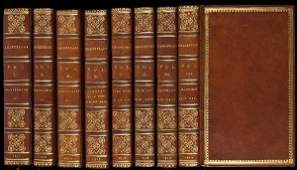 69 Finely bound set of Shakespeare in 21 vols 1813