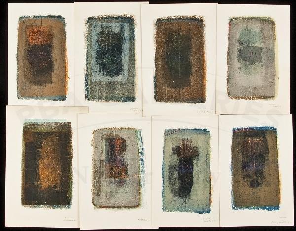 8: Portfolio of Stoneprints, Petersen 1/30 copies
