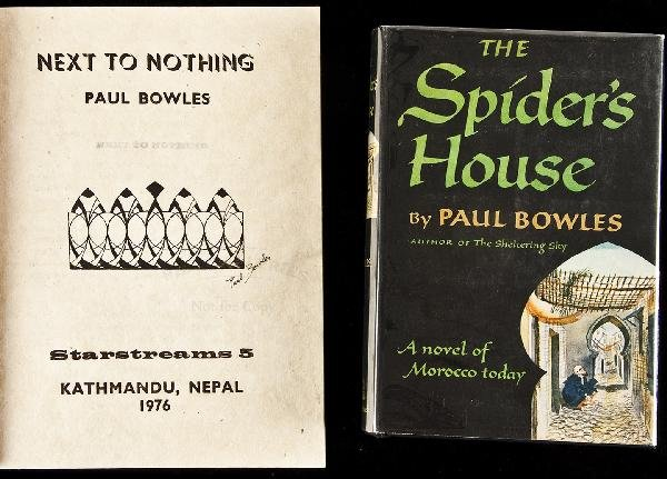 14: Next to Nothing signed by Paul Bowles 1976