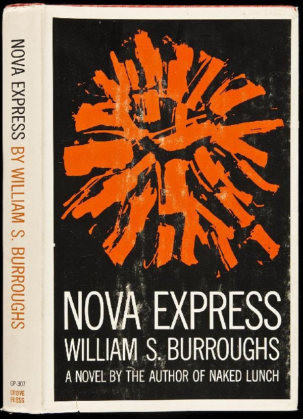 20: Nova Express by William S. Burroughs 1st in dj