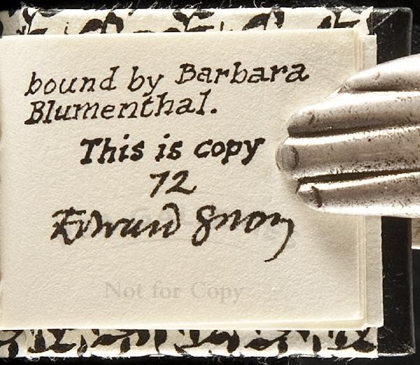 375: Eclectic Abecedarium 1/80 signed Edward Gorey