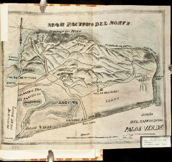 22: Diseños of California Ranchos maps 1964