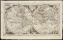 429 Cluver World Map California an island 167682