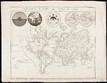 436: World Map with California an island 1809