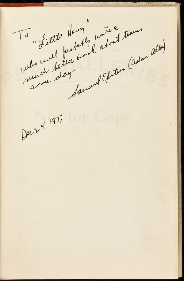 1: Tin Lizzy and How She Ran inscribed by author