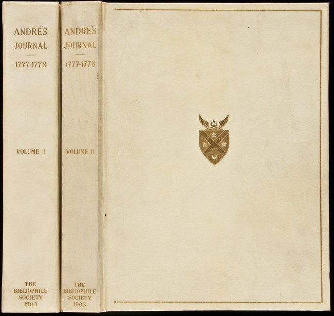 5: Andre's Journal Bibliophile Society