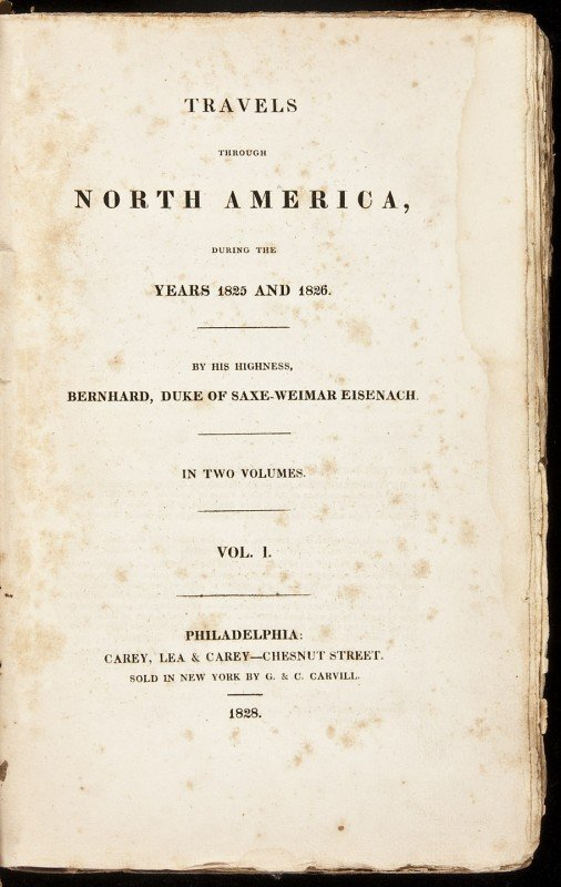9: German Duke travels in U.S. 1828