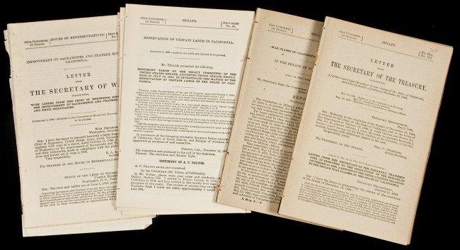 31: Twelve U.S. Government reports on California