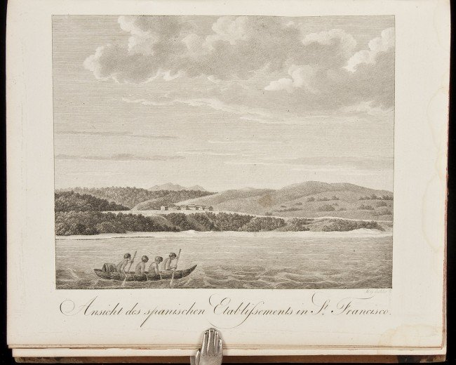 298: Langsdorff Travels w/1st view San Francisco 1812