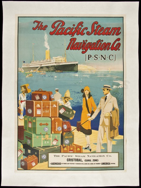 453: Pacific Steam Navigation Co. poster c,1925