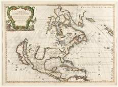 464: Rossi/Sanson North America Calif. an island 1677
