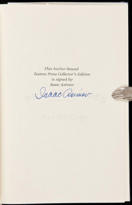5: The Foundation Trilogy Signed Limited Edition