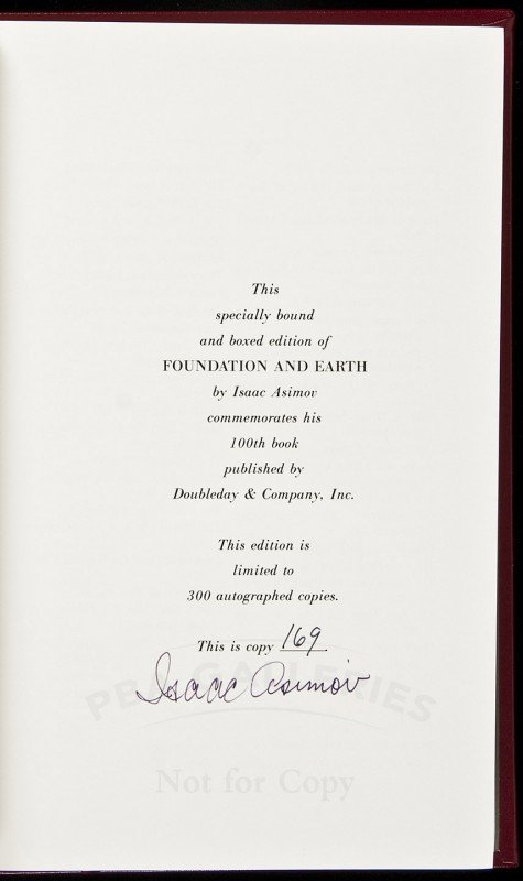 6: Isaac Asimov Foundation and Earth