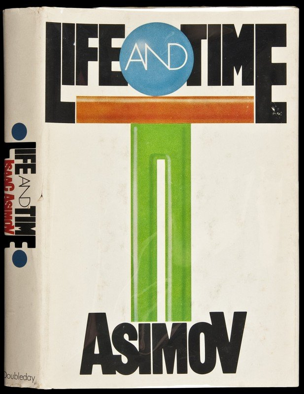 9: Isaac Asimov Life & Time Inscribed 1st Edition