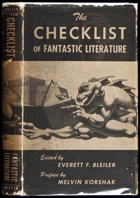 17: Bleiler's Checklist of Fantastic Literature