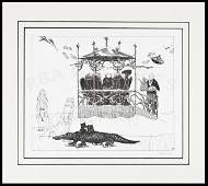 164 Limited edition Signals print 11750 Ed Gorey