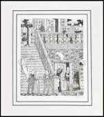 165 Limited edition Signals print 11750 Ed Gorey