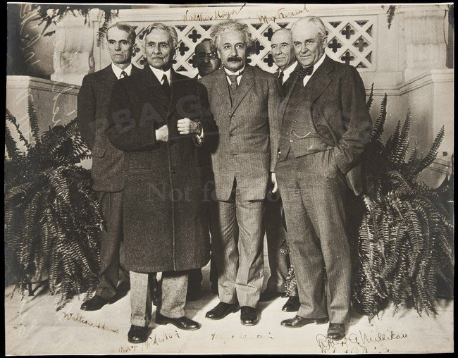 314: Original photograph of Albert Einstein